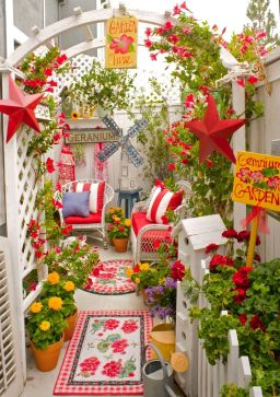 Cute and simple tiny patio garden ideas 07