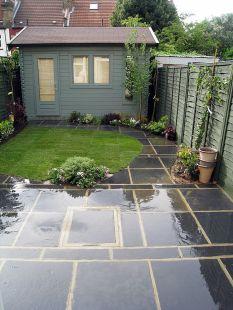 Cute and simple tiny patio garden ideas 21