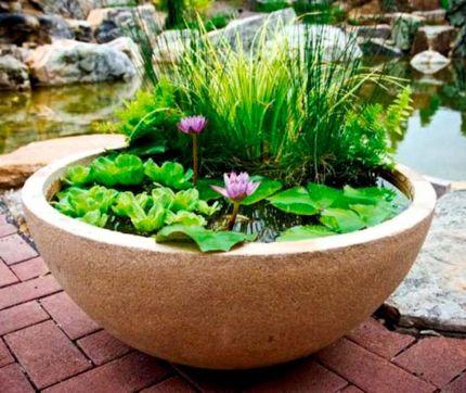 Cute and simple tiny patio garden ideas 26