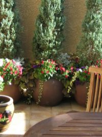 Cute and simple tiny patio garden ideas 81