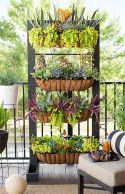 Cute and simple tiny patio garden ideas 83