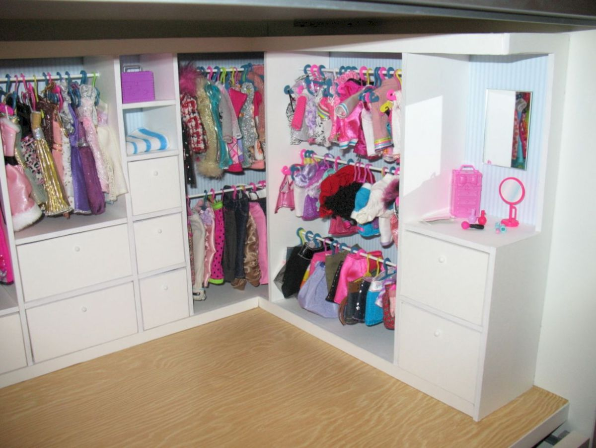 Diy barbie doll furniture 35