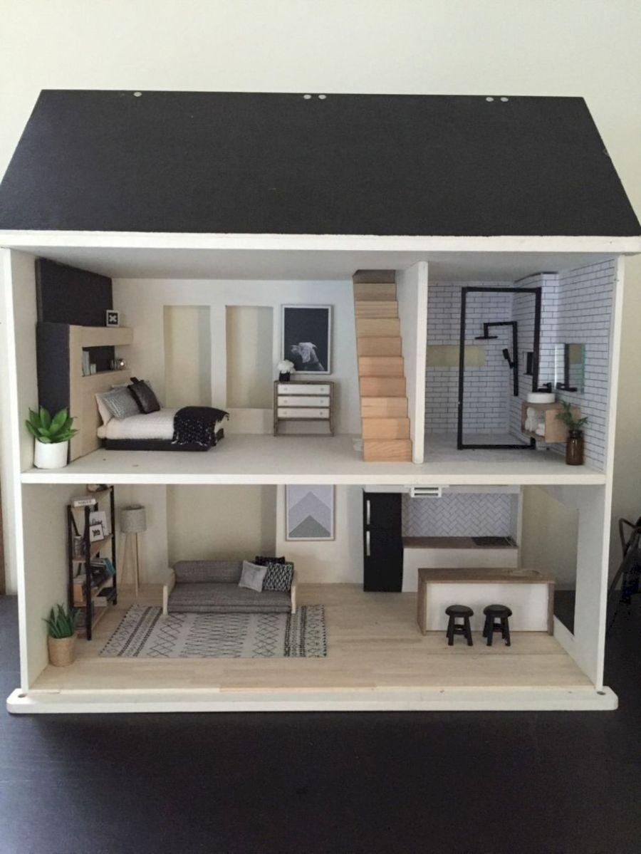 Diy barbie doll furniture 37