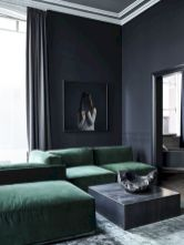 Dark green living room furniture 08