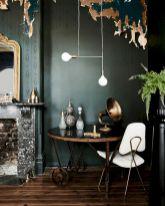 Dark green living room furniture 25