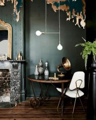 Dark green living room furniture 25