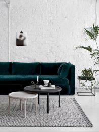 Dark green living room furniture 35