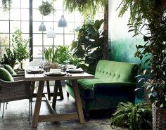 Dark green living room furniture 44