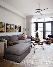 Design for men's apartment 34