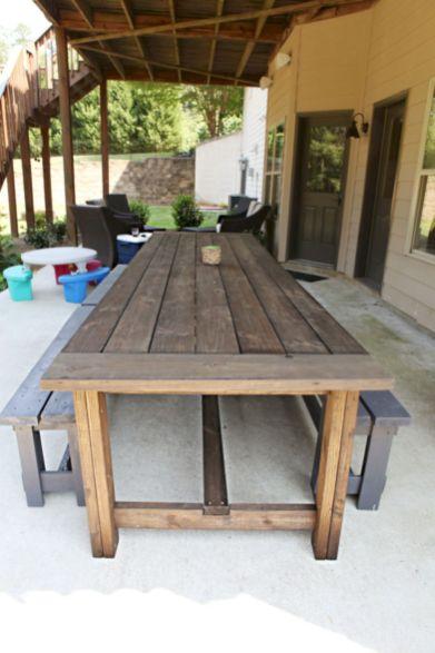 Diy outdoor patio furniture 23