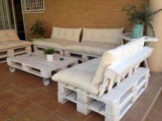 Diy outdoor patio furniture 27