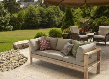 Diy outdoor patio furniture 41