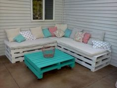 Diy outdoor patio furniture 45