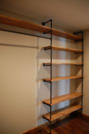 Easy and affordable diy wood closet shelves ideas 03