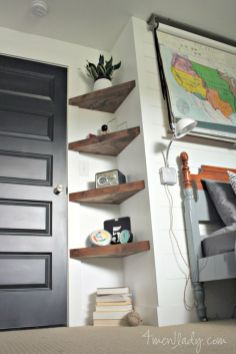 Easy and affordable diy wood closet shelves ideas 06