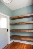 Easy and affordable diy wood closet shelves ideas 13