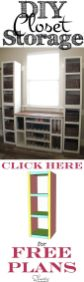 Easy and affordable diy wood closet shelves ideas 34