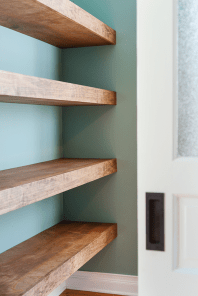 Easy and affordable diy wood closet shelves ideas 36