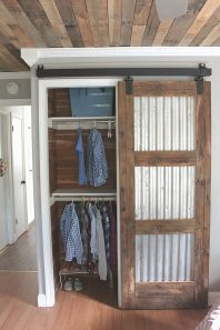 Easy and affordable diy wood closet shelves ideas 37