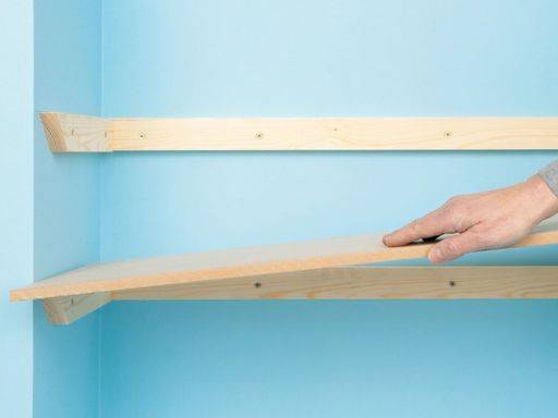 Easy and affordable diy wood closet shelves ideas 44