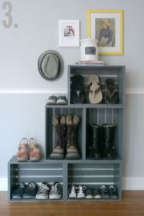 Easy and affordable diy wood closet shelves ideas 46