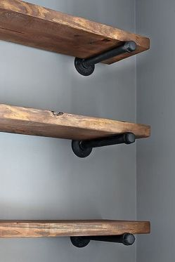 Easy and affordable diy wood closet shelves ideas 61
