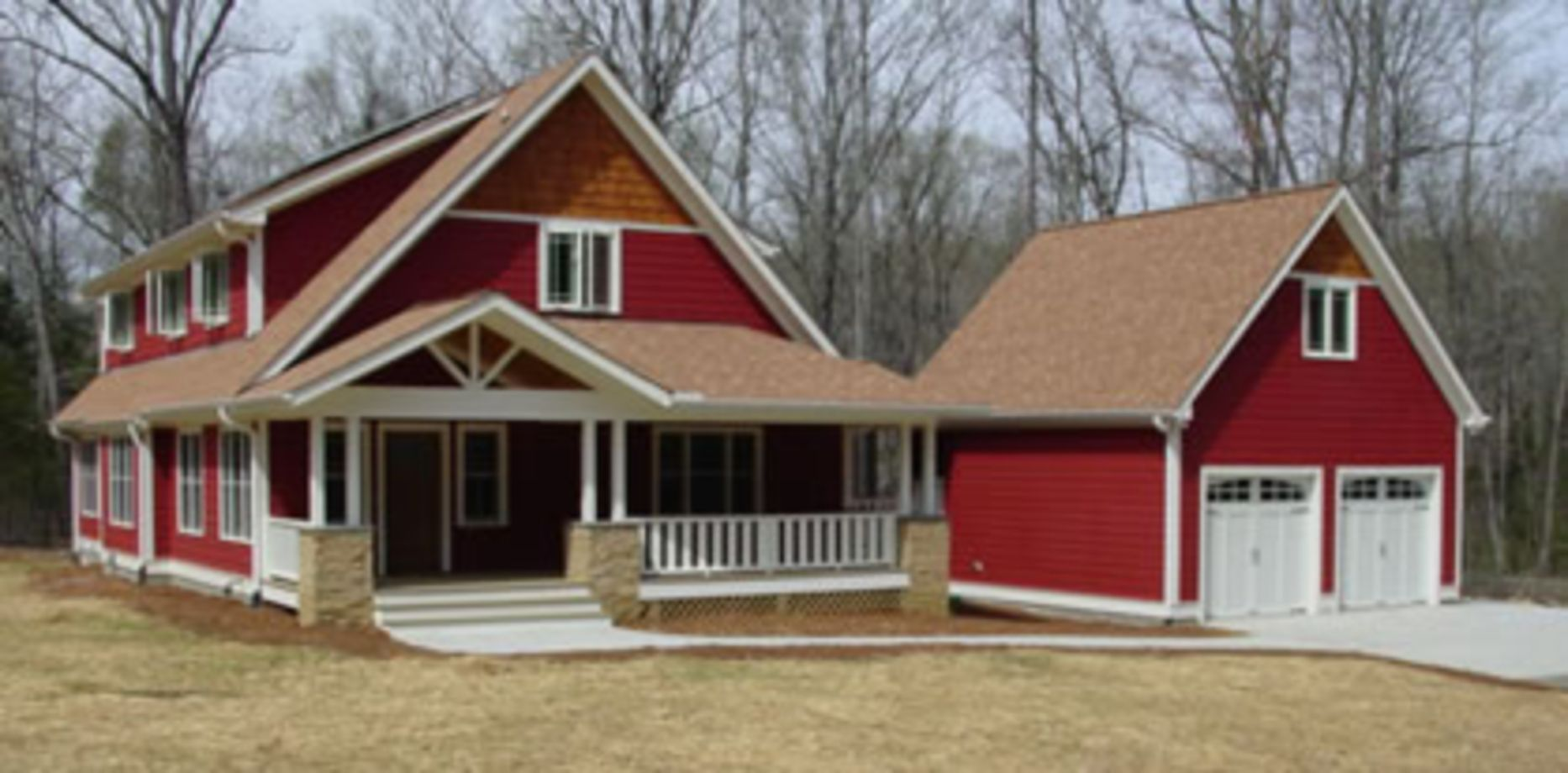 Exterior house colors with brown roof 03