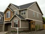 Exterior house colors with brown roof 22