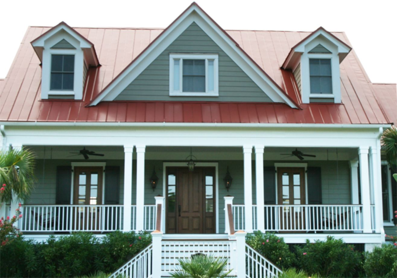 Exterior House Colors With Brown Roof 28