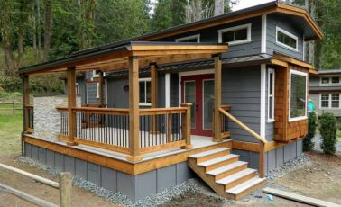 Exterior paint color ideas for mobile homes 05