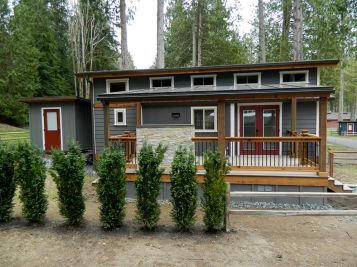 Exterior paint color ideas for mobile homes 18