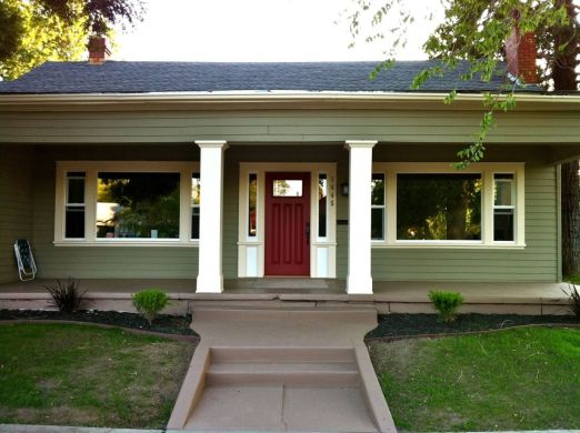 Exterior paint schemes for bungalows 02