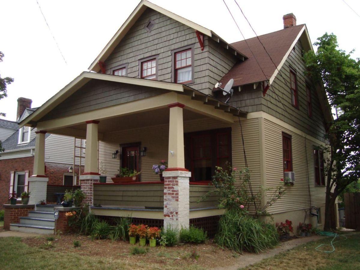 Exterior paint schemes for bungalows 10