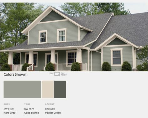 Exterior paint schemes for bungalows 12