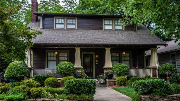 Exterior paint schemes for bungalows 38 ROUNDECOR