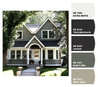 Exterior paint schemes for bungalows 40