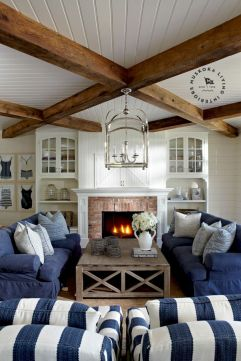 Furniture placement ideas with fireplace 16