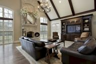 Furniture placement ideas with fireplace 24