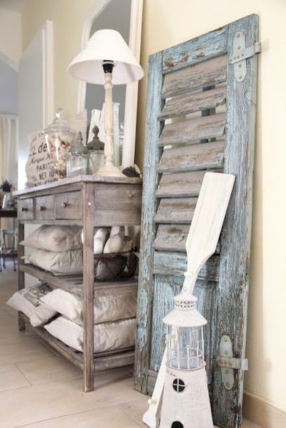 Gray shabby chic furniture 16