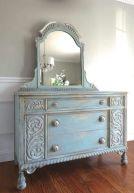 Gray shabby chic furniture 30