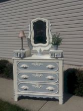 Gray shabby chic furniture 32