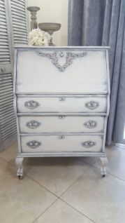 Gray shabby chic furniture 34