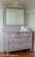 Gray shabby chic furniture 38