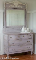 Gray shabby chic furniture 38