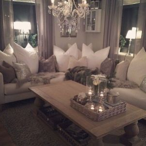 Incredible teal and silver living room design ideas 26