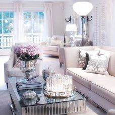 Incredible teal and silver living room design ideas 40
