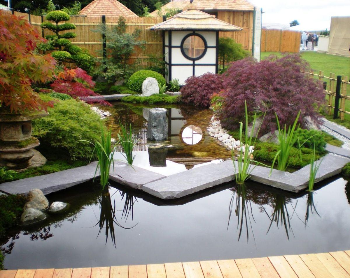Inspiring small japanese garden design ideas 24