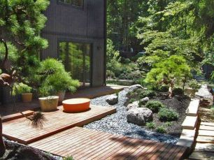 Inspiring small japanese garden design ideas 62