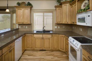 Modern cream painted kitchen cabinets ideas 33