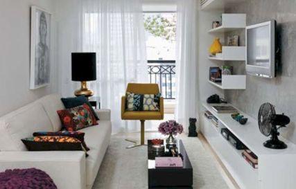 Narrow living room furniture 01